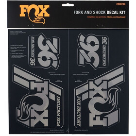 Fox Racing Shox Decal 2019 AM Heritage Gabel- und Stoßdämpfer Set stealth black